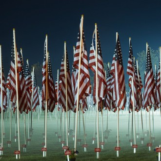 Field of Flags photo