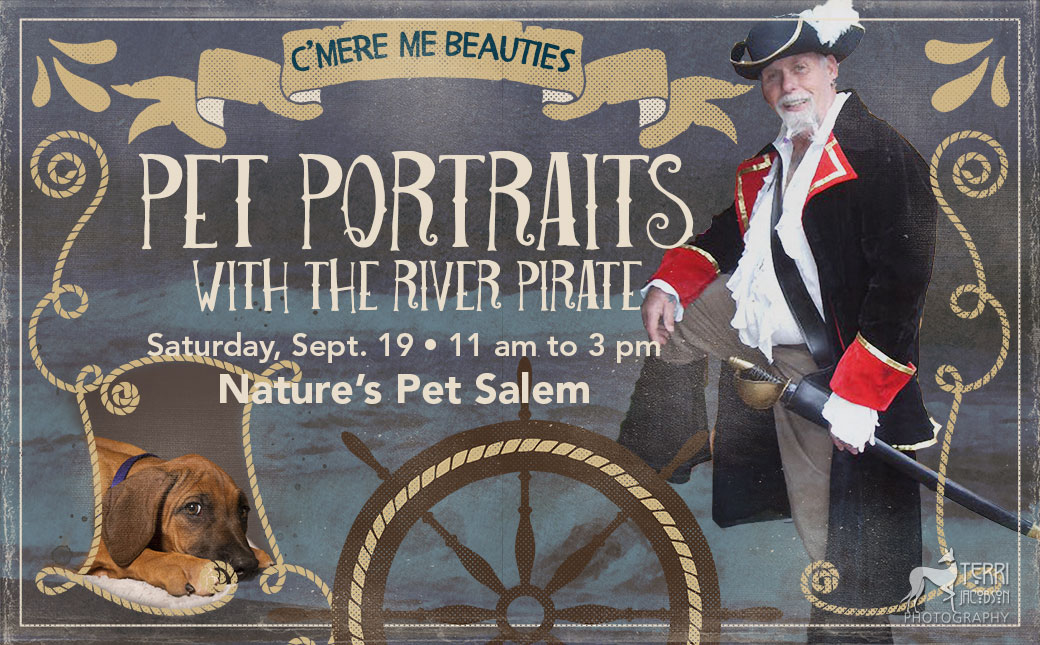 Portraits with the River Pirate