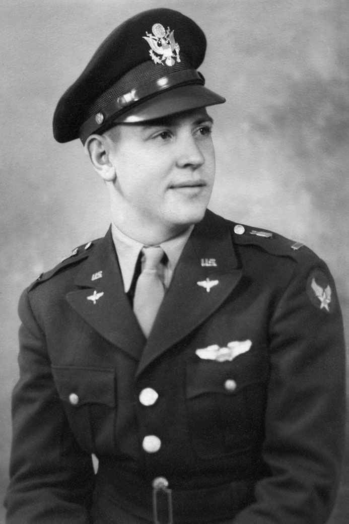 Maurice Eugene Jacobson, pilot in WWII