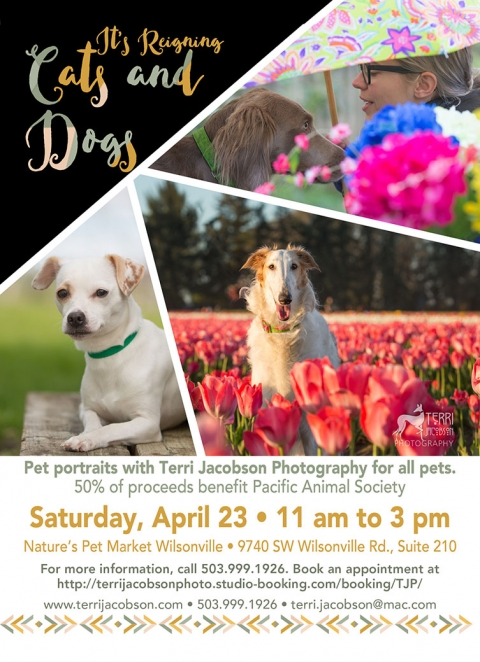Our next event is at Nature's Pet Wilsonville